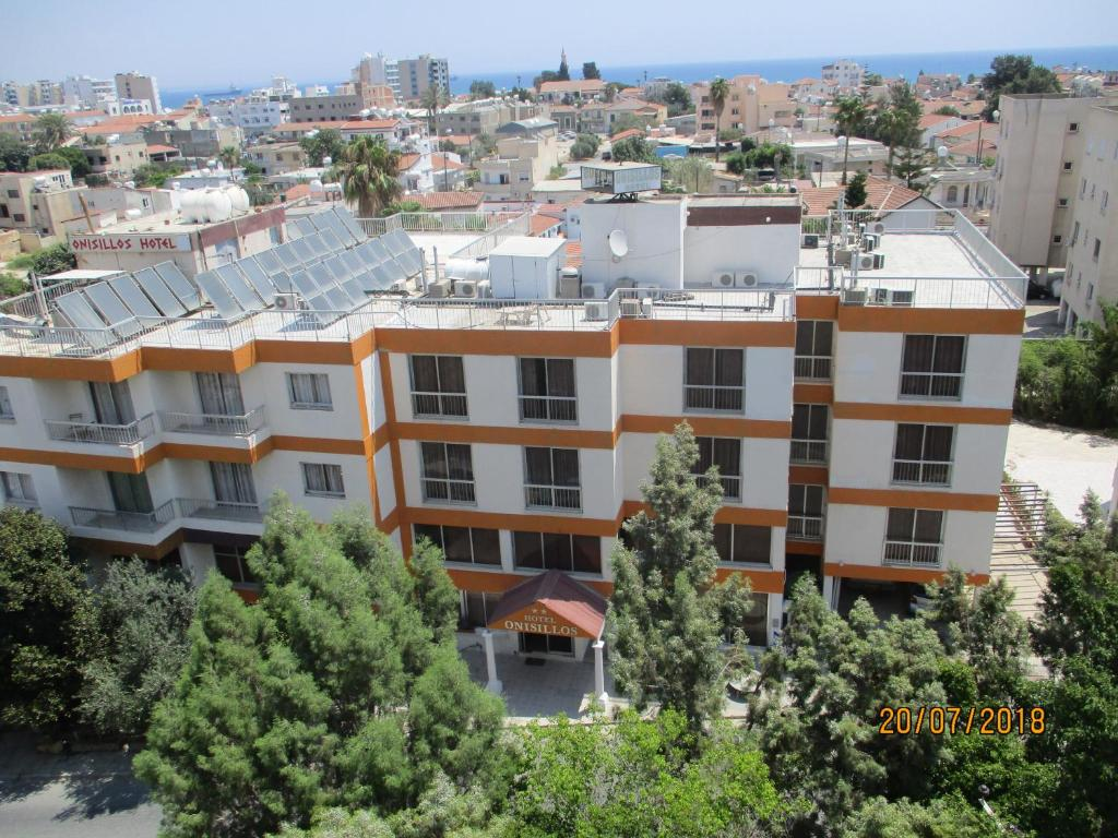 A bird's-eye view of Onisillos Hotel
