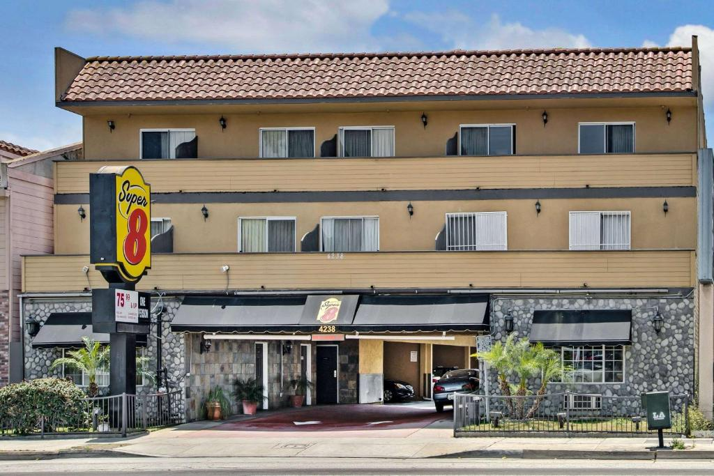 The Super 8 by Wyndham Inglewood/LAX/LA Airport.