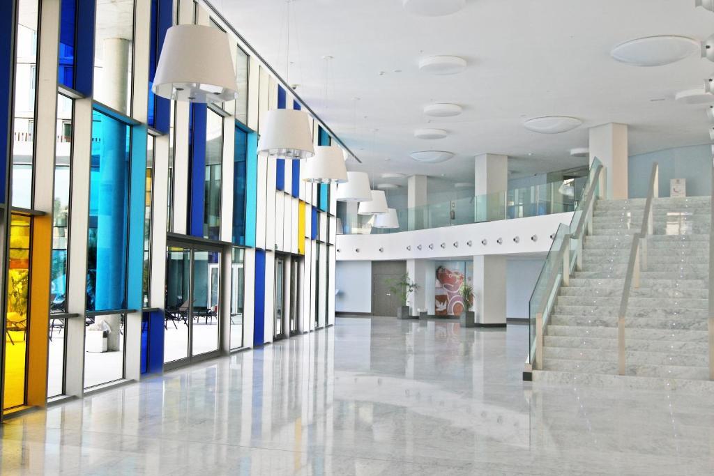 El vestíbulo o zona de recepción de Ágora Spa & Resort