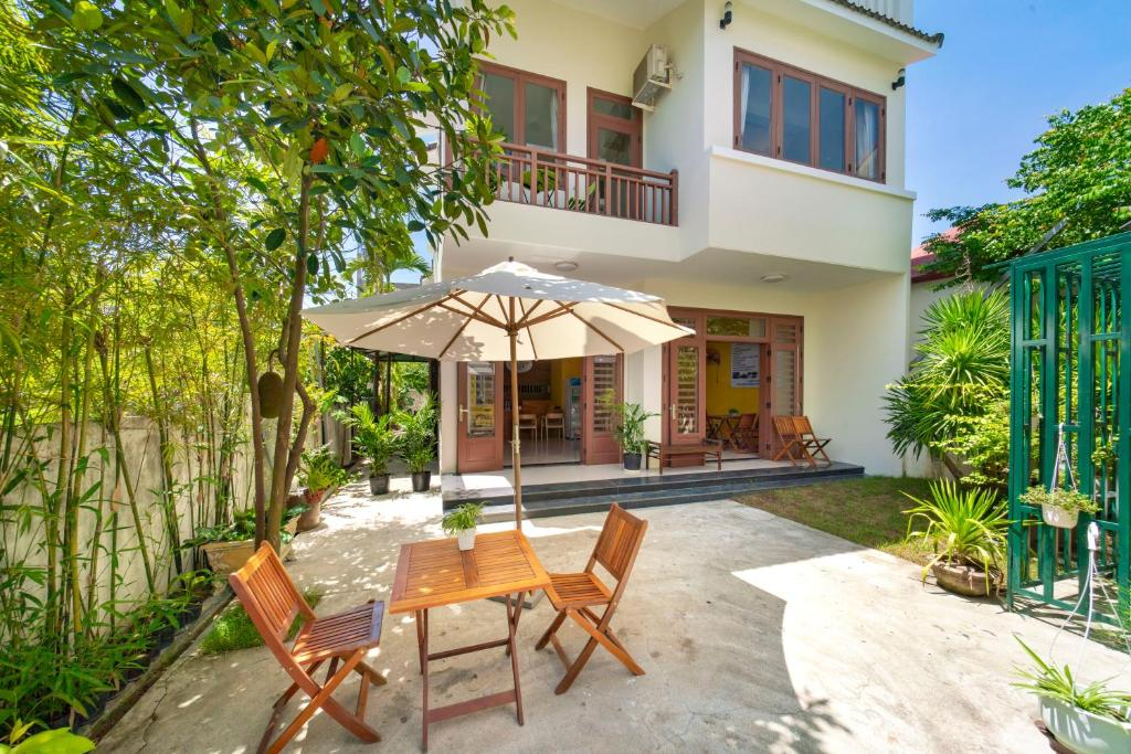 The swimming pool at or near Green Garden Hoi An Homestay