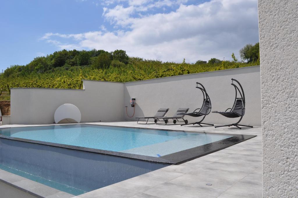 The swimming pool at or near CASA Pura Vida