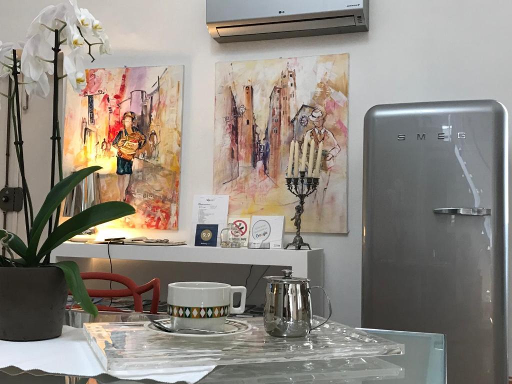A kitchen or kitchenette at Stardust