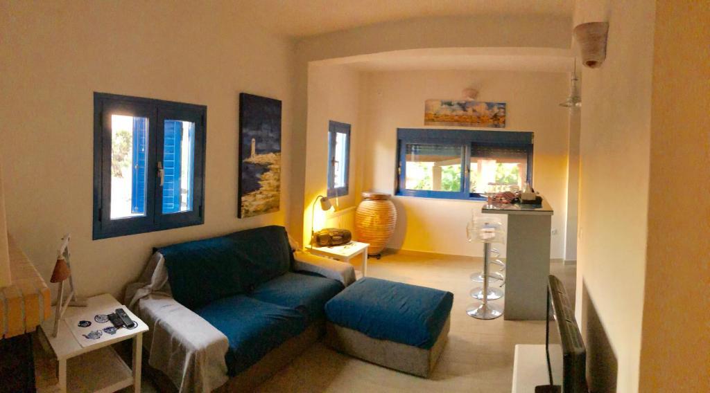 Χώρος καθιστικού στο Villa Cavour
