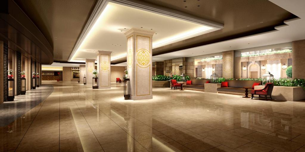 Лобби или стойка регистрации в Nagoya Tokyu Hotel