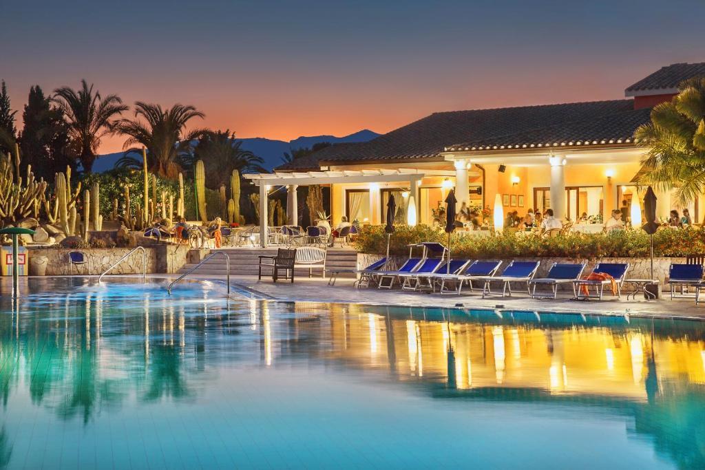 The swimming pool at or near Lantana Resort Hotel&Apartments