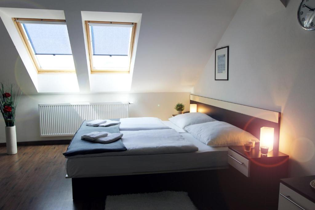 Un ou plusieurs lits dans un hébergement de l'établissement Residence Vysta
