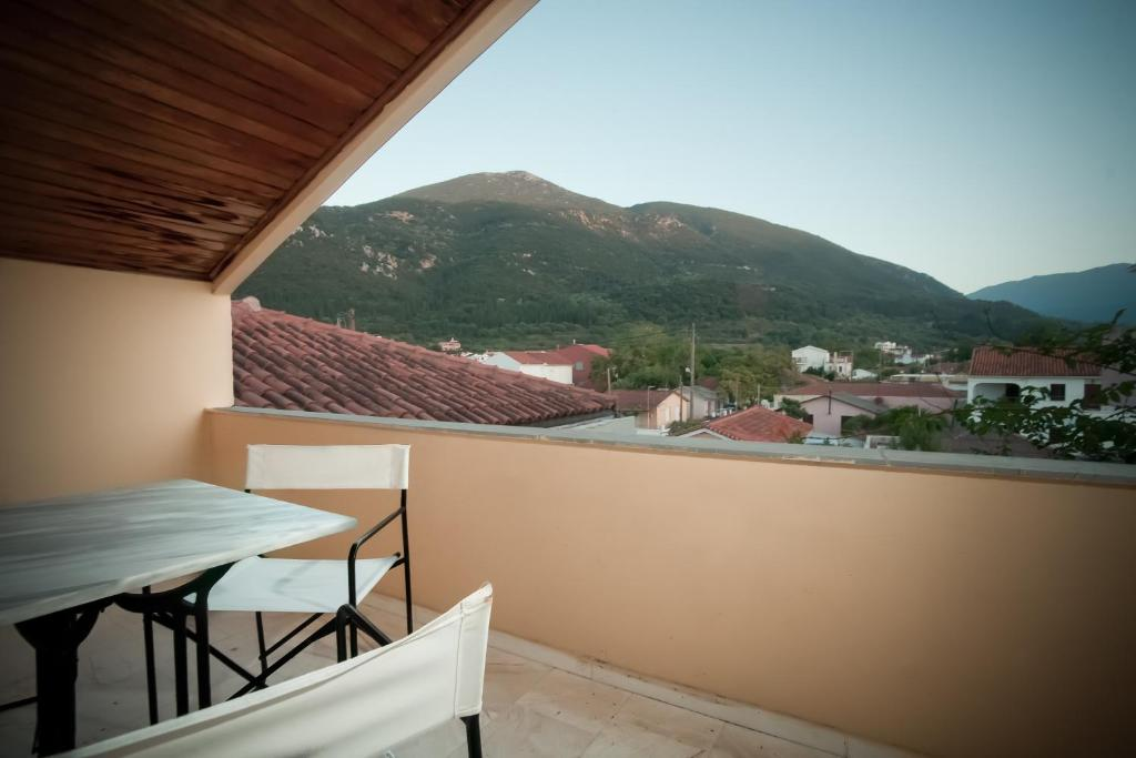 Balcone o terrazza di Staggia Studios