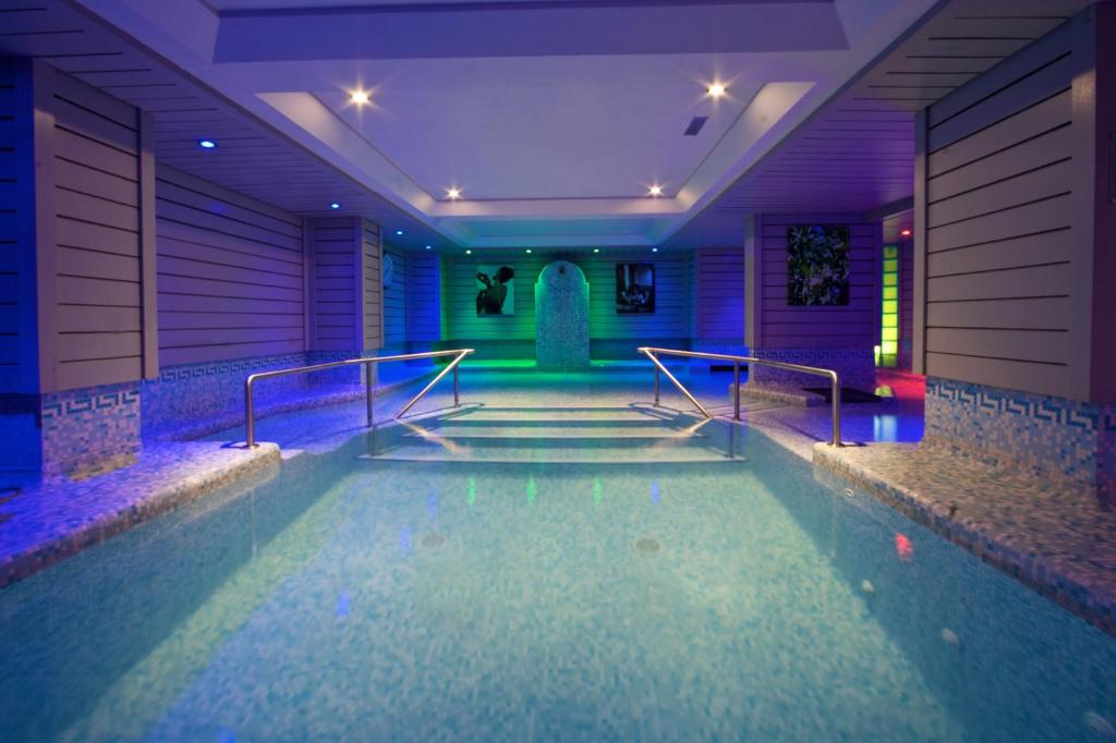 The swimming pool at or near Hotel Le Morgane