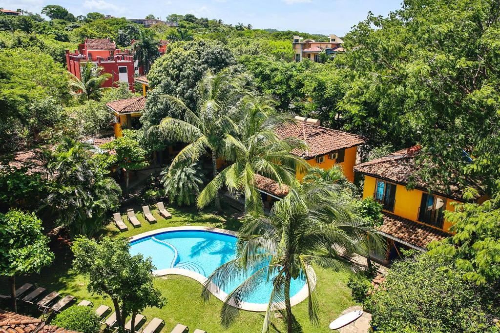 Vista de la piscina de Villas Macondo o alrededores