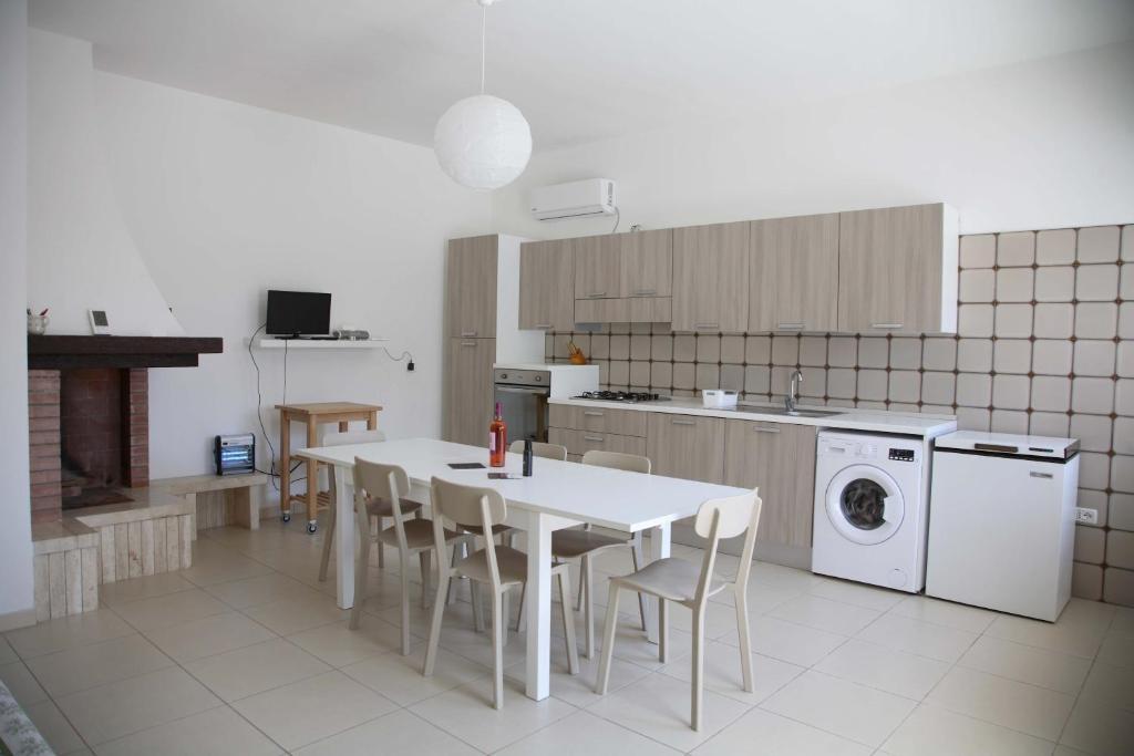 Cucina o angolo cottura di Casa Solento