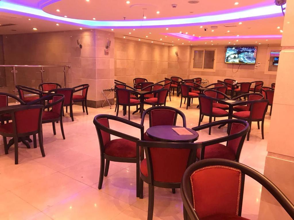 مطعم أو مكان آخر لتناول الطعام في فندق زهرة الياسر