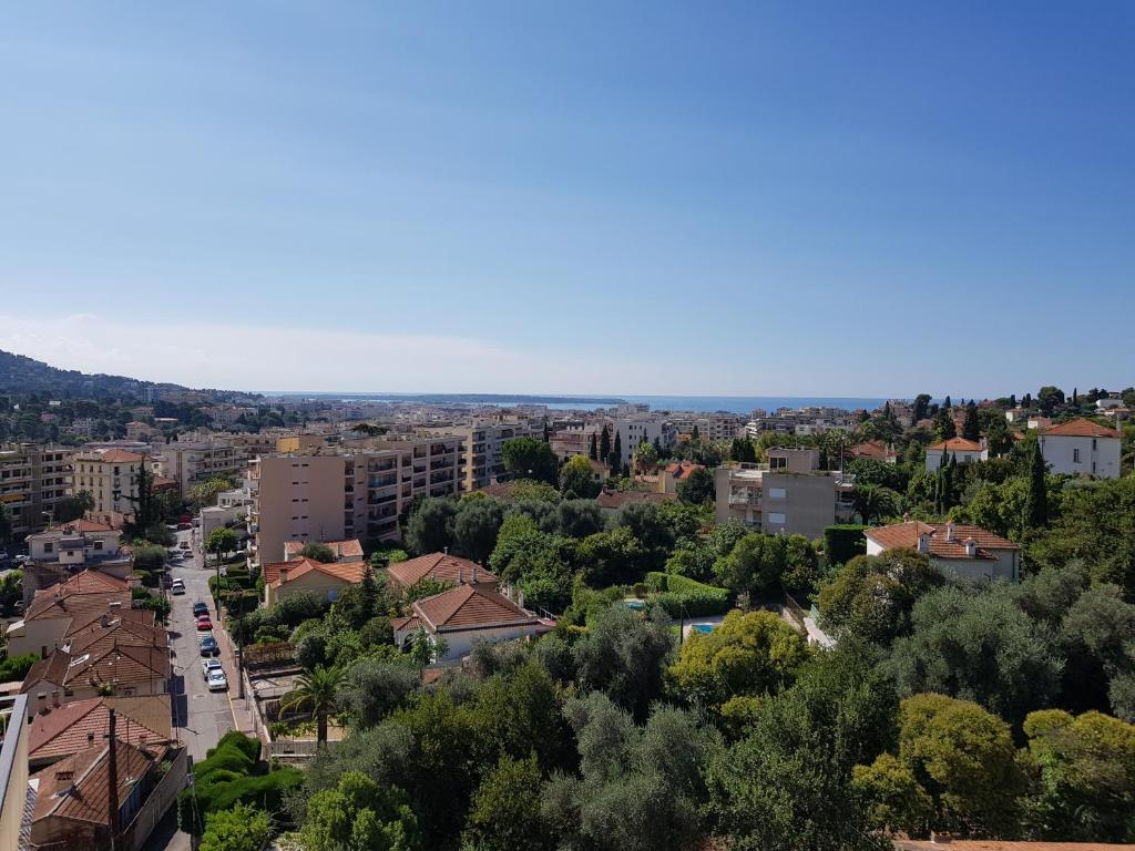 A bird's-eye view of Hotel La Cle Du Sud