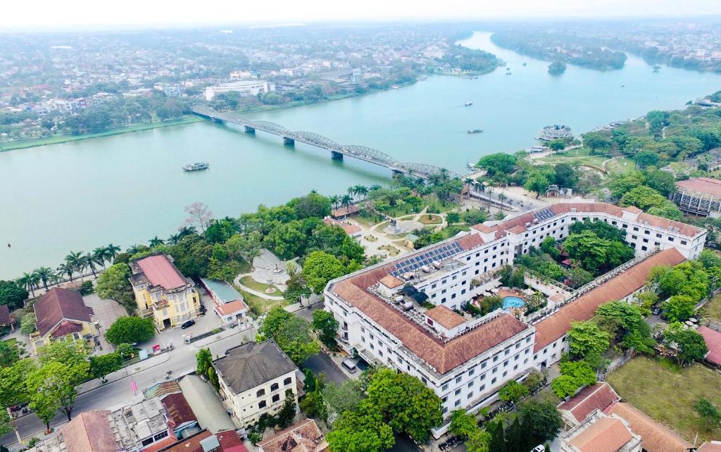 A bird's-eye view of Saigon Morin Hotel