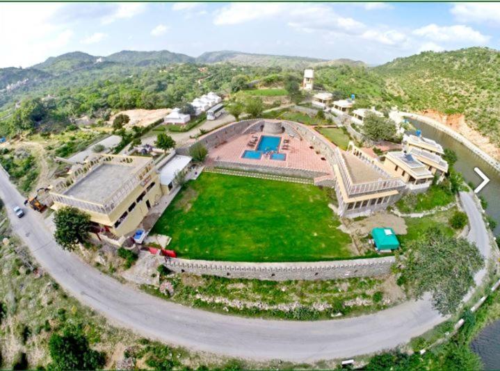 A bird's-eye view of Devi Palace Resort