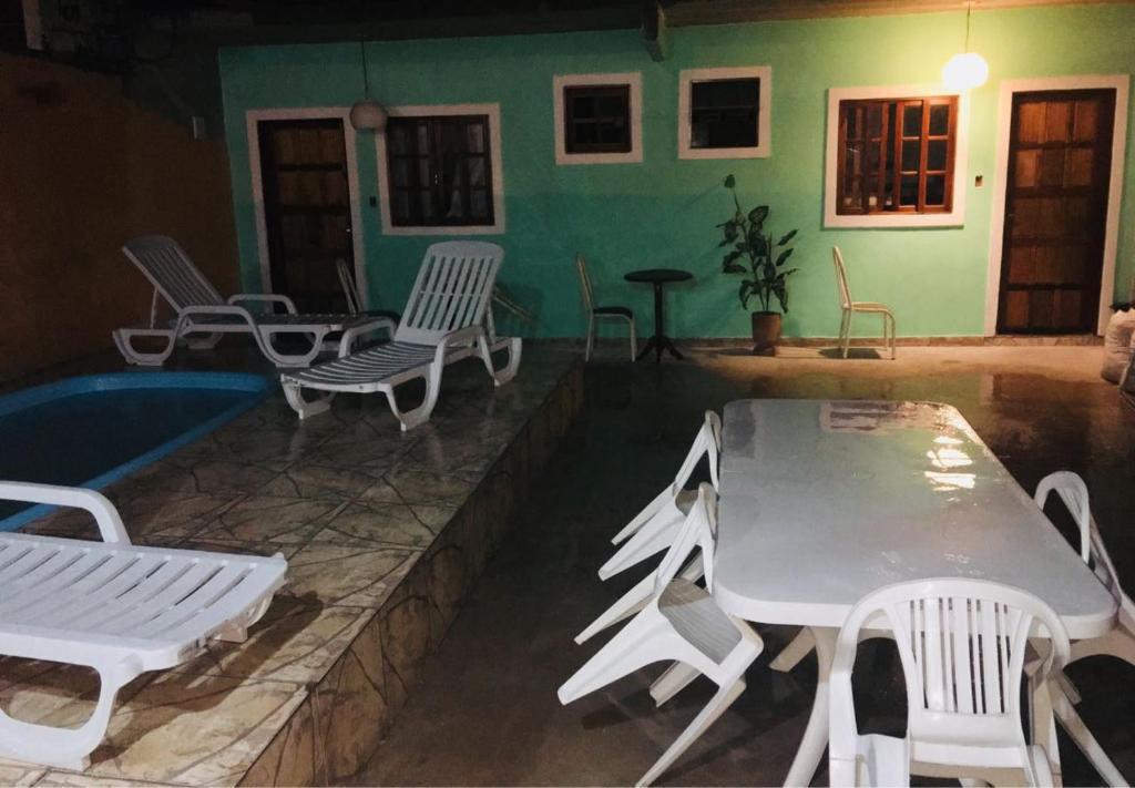 A piscina localizada em Cantinho do Sossego ou nos arredores