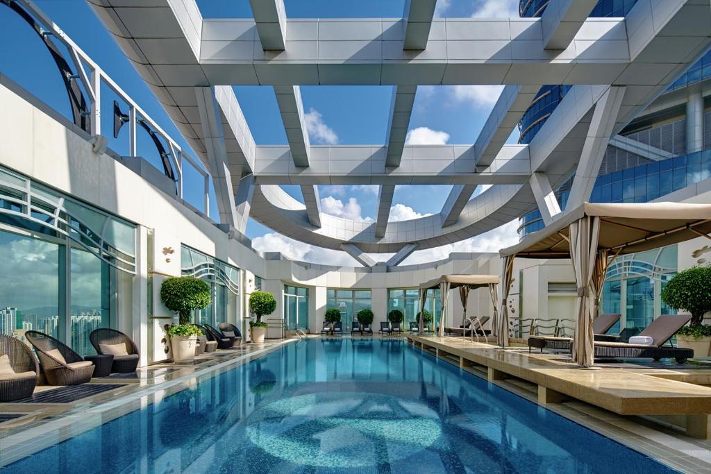 The swimming pool at or near Cordis, Hong Kong