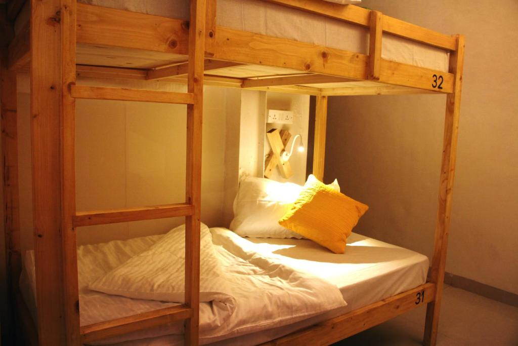 A bunk bed or bunk beds in a room at Cohostel
