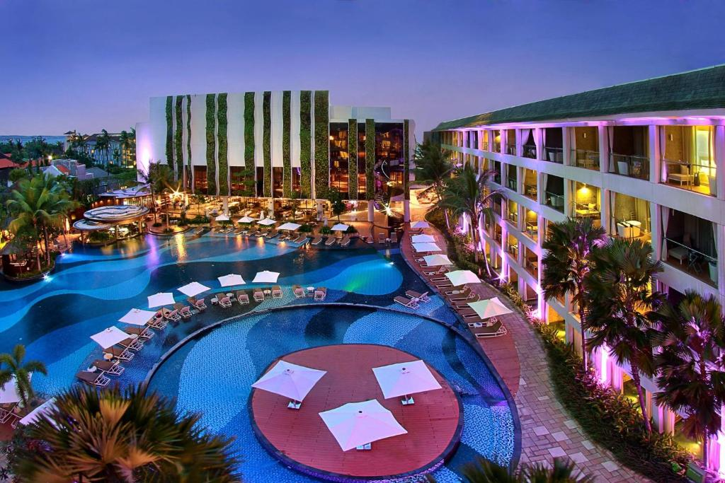 A view of the pool at The Stones - Legian Bali, Marriott's Autograph Collection Hotel or nearby