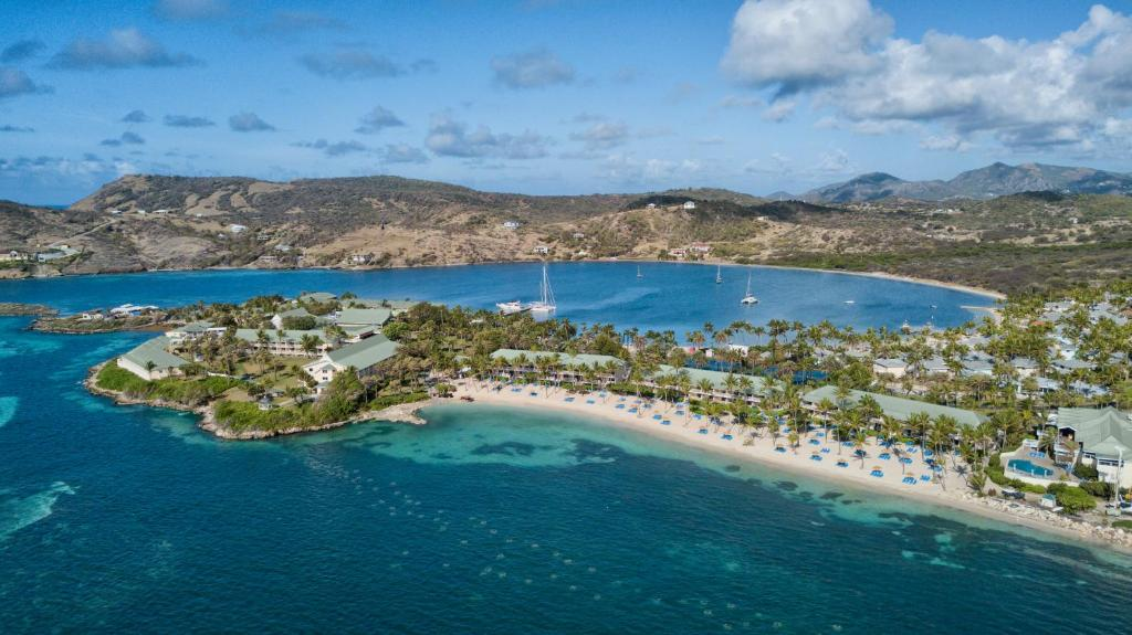 A bird's-eye view of St. James's Club Resort - All Inclusive