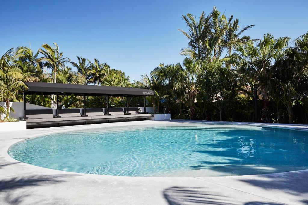 The swimming pool at or near The Bower Byron Bay
