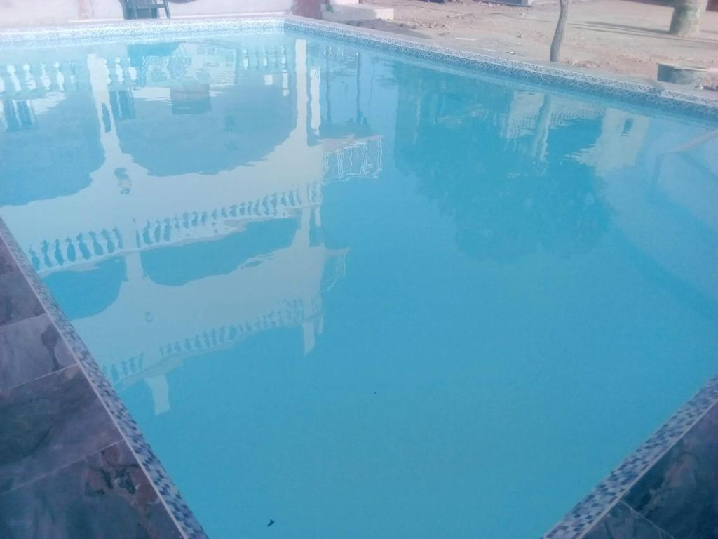 The swimming pool at or near Dabo House