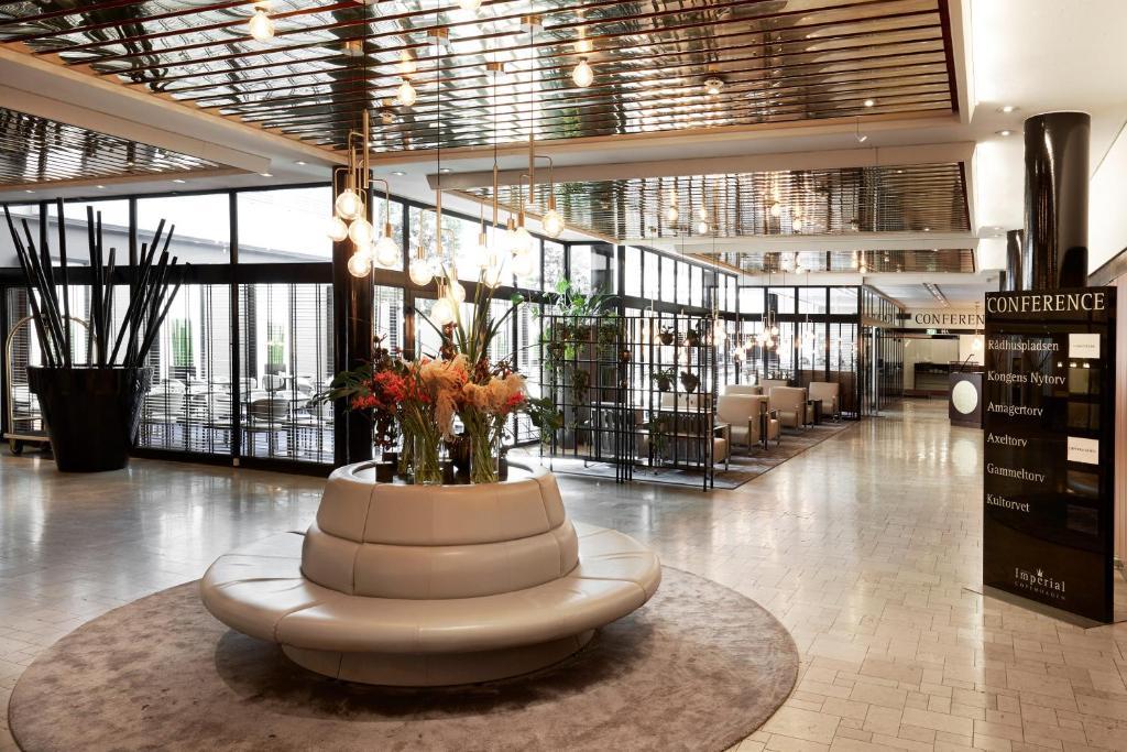 Hall o reception di Imperial Hotel