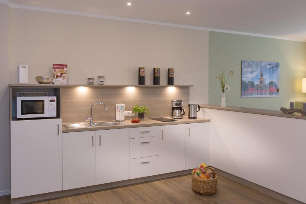 Een keuken of kitchenette bij Cozy-Flats Koblenz