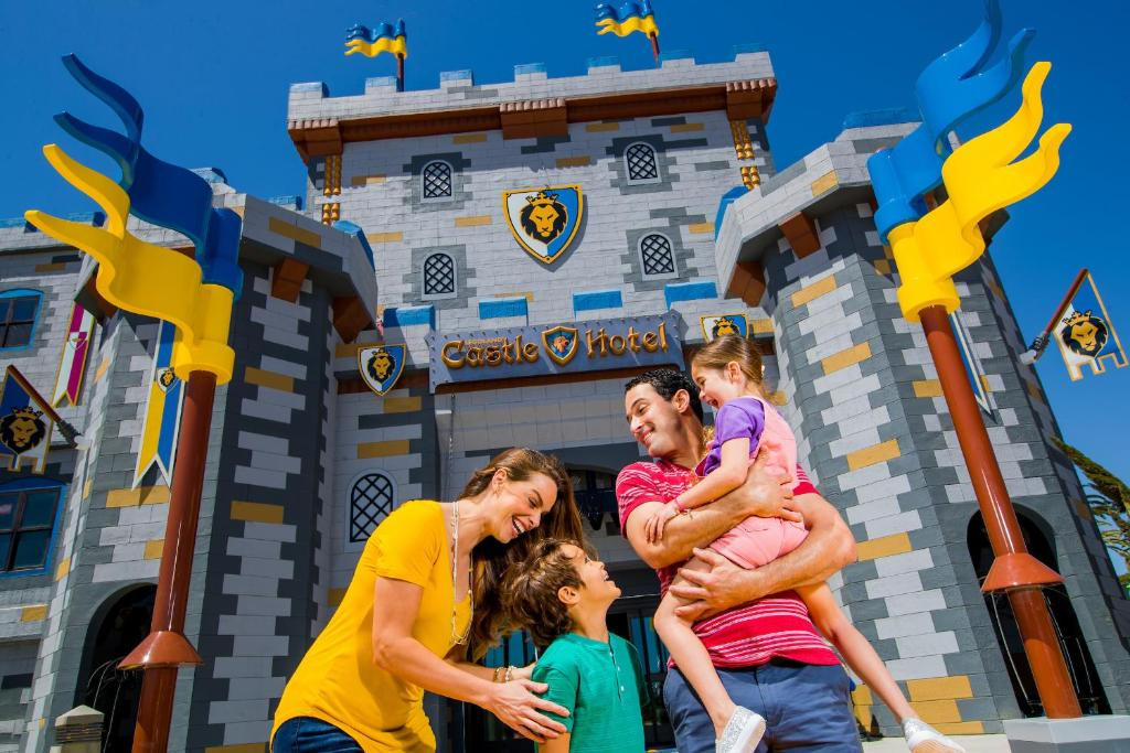 Children staying at LEGOLAND California Hotel and Castle Hotel
