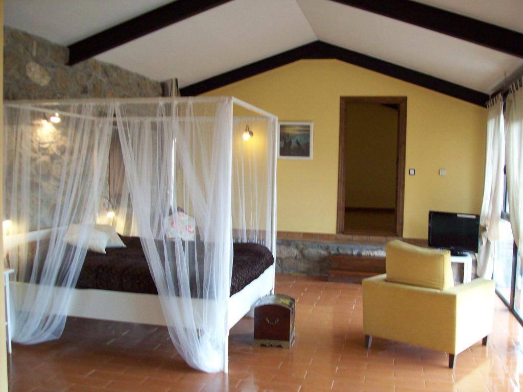 Zona de estar de Posada Palacio Manjabalago