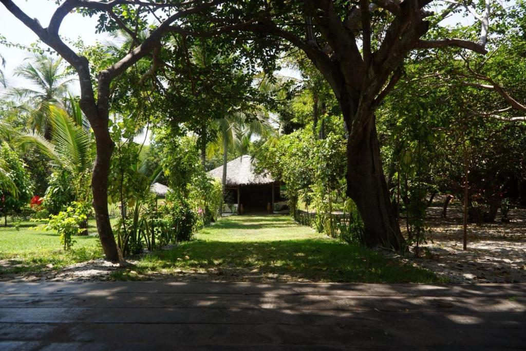 Um jardim em Ciamat Camp