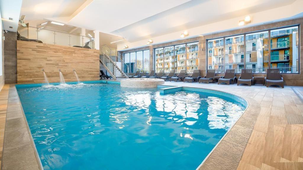 The swimming pool at or near Apartamenty Siesta-Family SPA