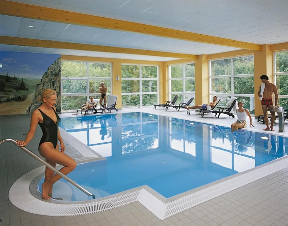 The swimming pool at or near Morada Hotel Alexisbad