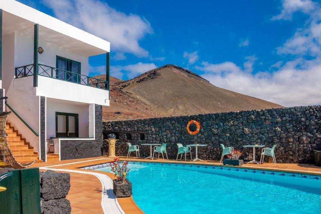 Het zwembad bij of vlak bij El Hotelito Del Golfo