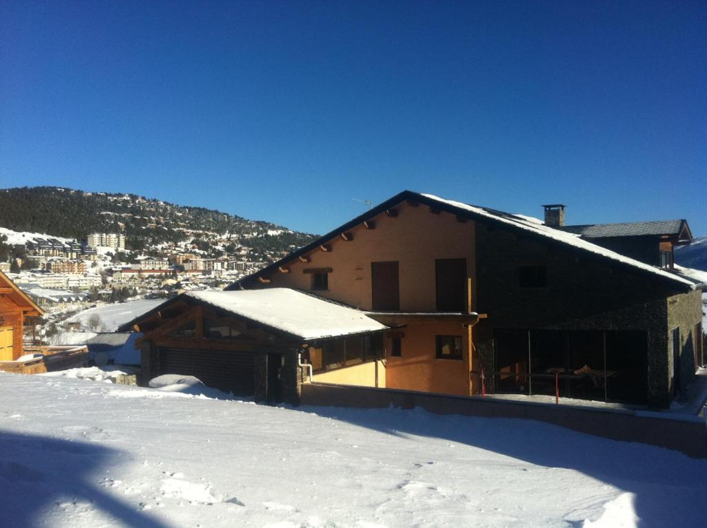 Chez Maguy during the winter