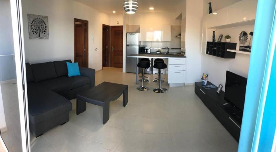 Zona de estar de Apartamento en Bajamar Tenerife