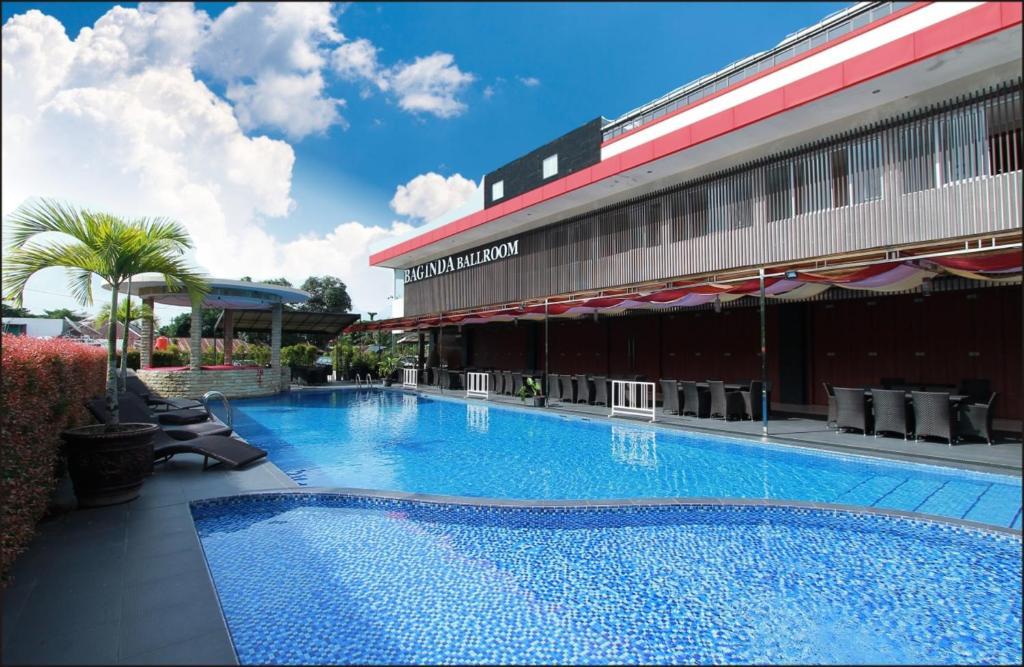 The swimming pool at or near Grand Hatika Hotel