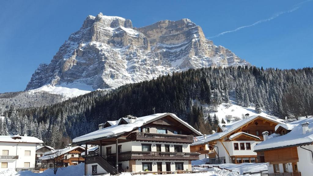Casa Piva Dolomiti during the winter