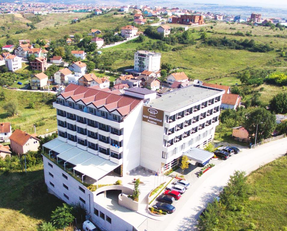 A bird's-eye view of Hotel International Prishtina & Spa