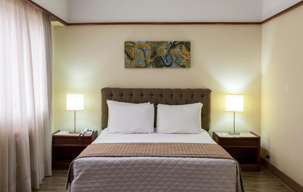 A bed or beds in a room at La Residence Itaim by Manager