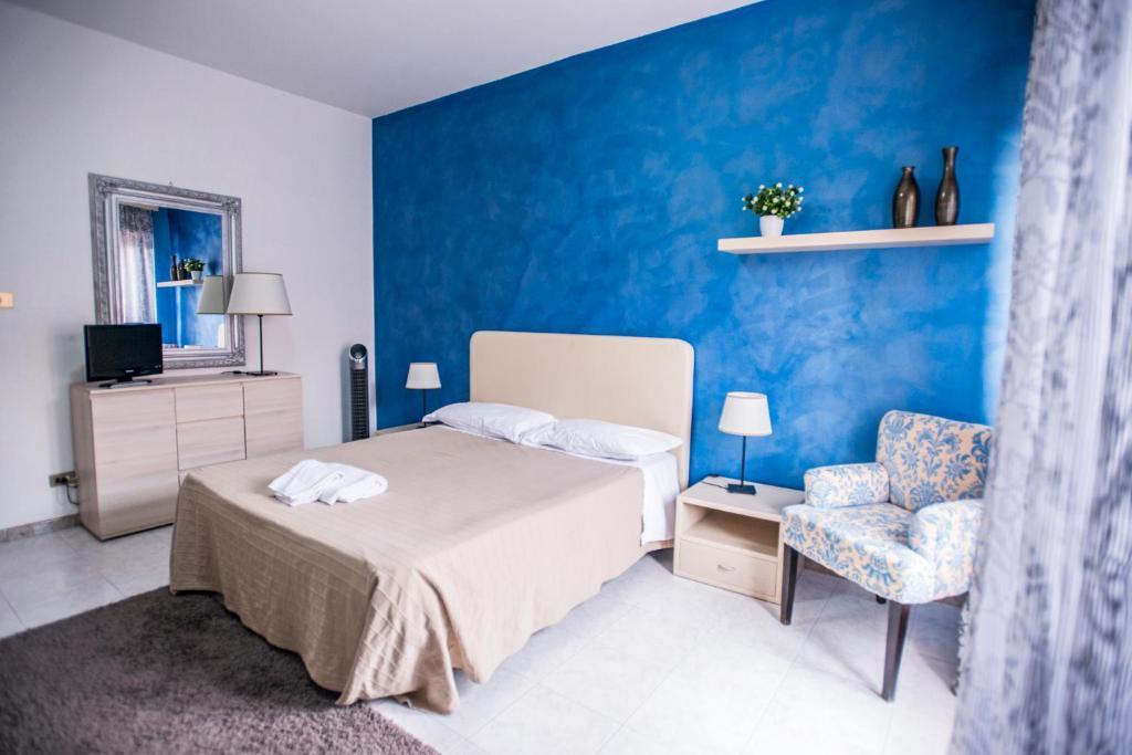 Кровать или кровати в номере Sant'Antonio Garden