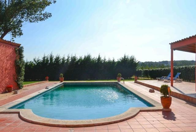The swimming pool at or near Veinat de les Ferreries Villa Sleeps 18 Pool WiFi