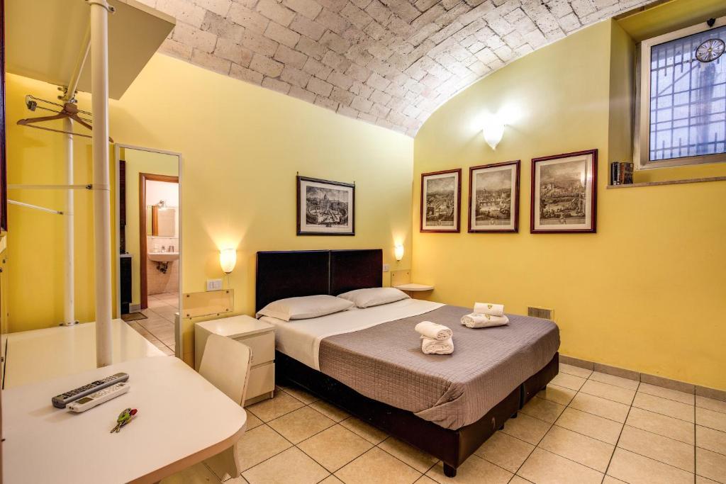 Cama o camas de una habitación en Magenta Classic San Pietro 34