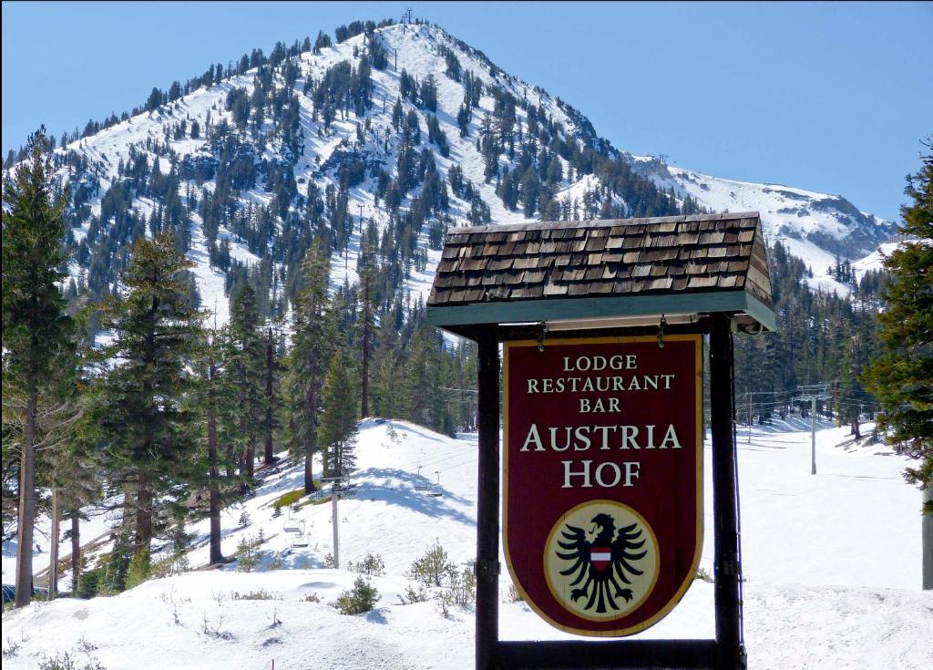 Austria Hof Lodge during the winter