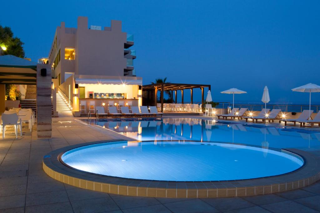 The swimming pool at or near Erytha Hotel & Resort Chios