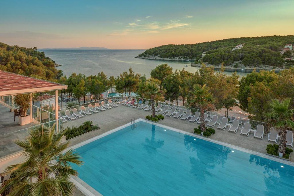 The swimming pool at or near Gava Waterman Milna Resort – All Inclusive
