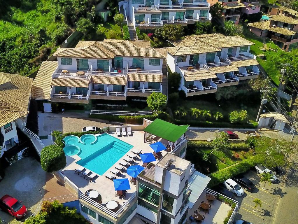 A bird's-eye view of Hotel Pousada Experience João Fernandes