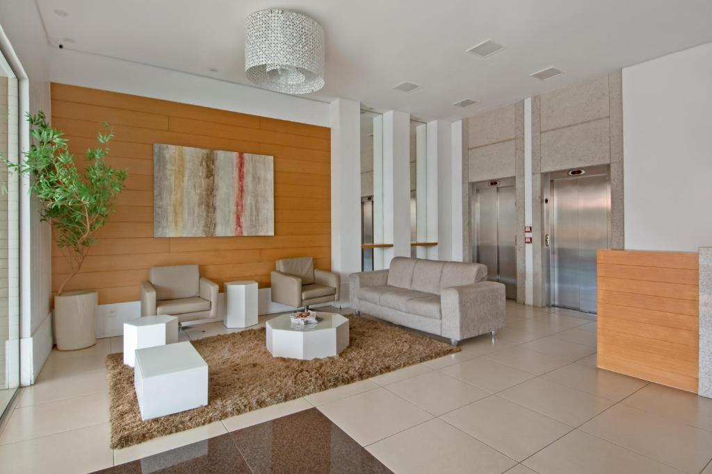 The lobby or reception area at Space Residence