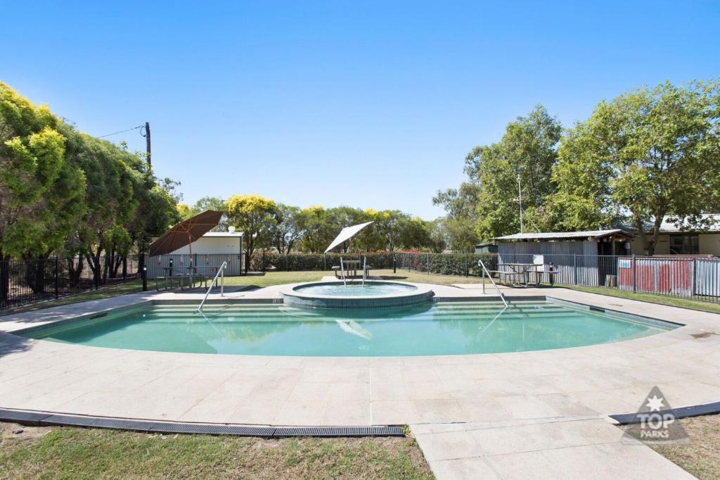 The swimming pool at or near Goondiwindi Holiday Park