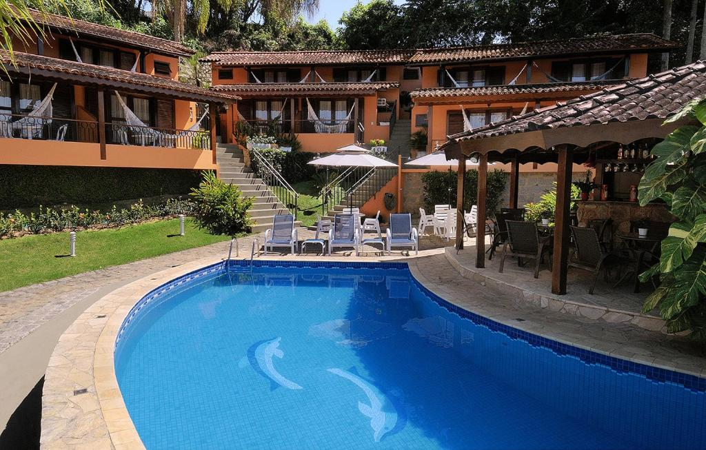 A piscina localizada em Pousada Do Forte ou nos arredores