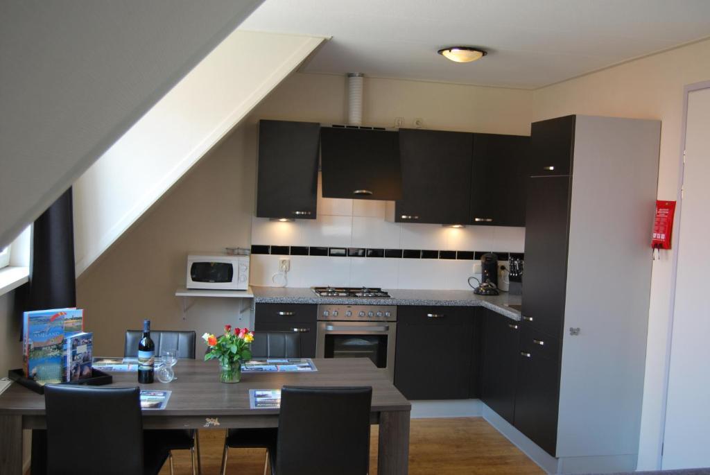 Küche/Küchenzeile in der Unterkunft Wijnberg Appartementen
